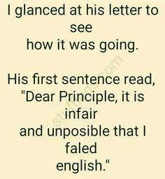 Formal Letter | English Stories For Kids, English Story, Good Jokes To Tell, Homework Humor, Funny Lion, Good Excuses, Personal Fitness, Husband Love, Good Advice