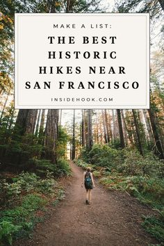 From Tomales Point in Marin to Muir Woods, these are the most historic hikes near San Francisco. San Francisco Hikes, Colorado Winter, Skiing Colorado, Hiking Spots, Hiking Trips, Backpacking, San Fransisco, California Dreamin', Best Hikes