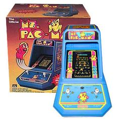 1980's Video Games - We used to play the yellow pac-man that looked just like this.