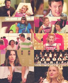 Glee. From the first season, which will always be my favorite.