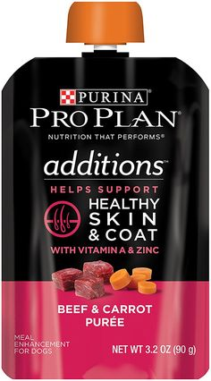 Purina Pro Plan Additions Meal Enhancement for Dogs - 14-3.2 oz. Pouches ** New and awesome dog product awaits you, Read it now  : Best dog food