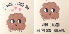 24 Unusual Love Cards For Couples With A Twisted Sense Of Humour ... I need these for my first wedding anniversary haha