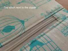 """I am excited to share the pattern for my """"Favorite Zipper Pouch"""". I needed a few gifts and whipped up some zipper pouches. I h… - My Favorite Zipper Pouch {tutorial} Sewing Hacks, Sewing Tutorials, Sewing Crafts, Sewing Projects, Sewing Tips, Makeup Bag Tutorials, Beginners Sewing, Tutorial Sewing, Diy Tutorial"""