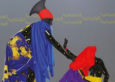 London's October Gallery Presents Congolese Visual Artist Eddy Kamuanga Ilunga's First UK Solo Exhibition Dark Matter, October Gallery, New York Galleries, Contemporary African Art, New Africa, South Africa, Lake Art, African Artists, The Clash