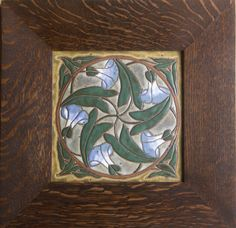 """Decorative Tile Frames Framed Art Tile """"snowy Owl"""" 4 X 8 Inches Tile 7 X 11 Inches"""