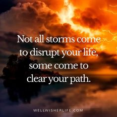 The storm always passes! #quote #motivationalquotes