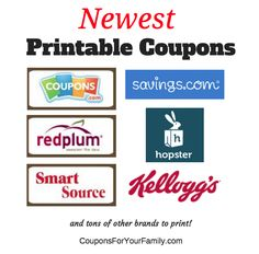 16752 Best Printable Coupons For Free Images In 2018 Printable
