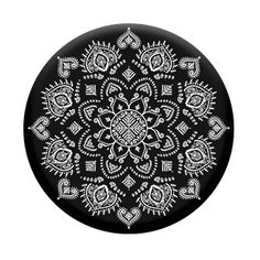"""PopSockets """"Quiet Darkness Mandala"""" design in the Good Vibes collection"""