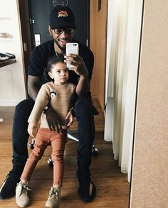Bryson Tiller & his daughter