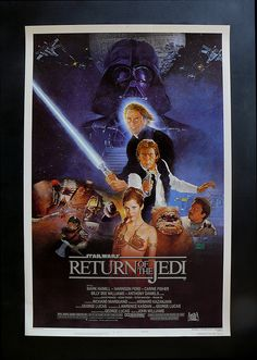 Return of the Jedi. All time favorite movie part 3