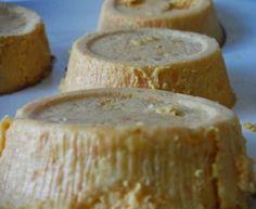 Flan di Zucca al Rosmarino con Salsa di Parmigiano e la foto più sfocata dell'anno (perdonatemi!!!)