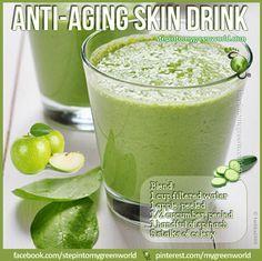 Anti aging skin drink
