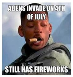 Funny pictures about Independence Day's logic. Oh, and cool pics about Independence Day's logic. Also, Independence Day's logic photos. Funny 4th Of July, Happy 4 Of July, July 4th, Funny Pictures With Captions, Funny Images, Very Funny Memes, Funny Jokes, Art Alien, Independence Day Quotes