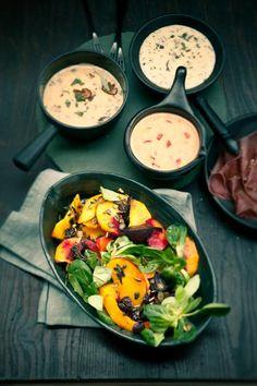 ▷ Beilagen und Saucen zum Fondue - Leckere Rezepte