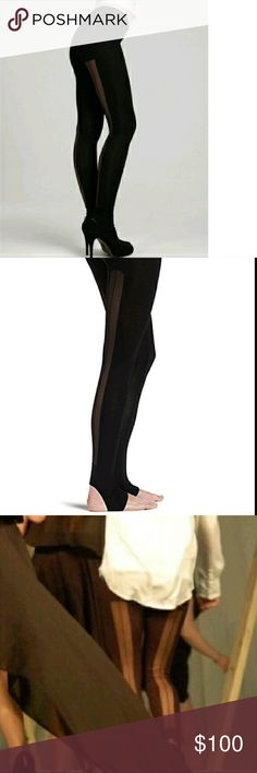 *MARKED DOWN* Price is firm  Very sexy BCBGMazAzria  Mesh leggings  on the back has mesh only they are size Medium and run like a small retail price still for 160$ BCBGMaxAzria Pants Leggings