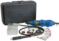WEN 2305 Rotary Tool Kit Set with Flex Shaft Grinder Cutter Carving Grooming  #WEN