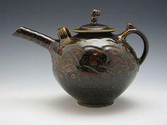 Tom Turner Porcelain Teapot - Studio Pottery
