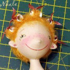 кукольная прическа от Nkale: Бигудюшки - Ярмарка Мастеров - ручная работа, handmade