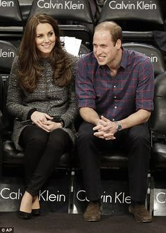 An exciting day: It had been a day of firsts for the royal couple and they declared themse...