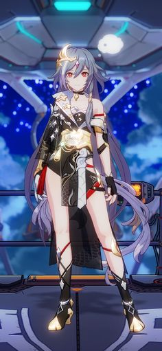 Fantasy Character Design, 3d Character, Fantasy Characters, Anime Characters, Anime Blue Hair, Art Station, I Love Anime, Costume Design, Art Pictures