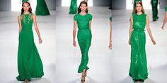 Elie Saab Emerald Dresses