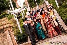 Asian drone wedding