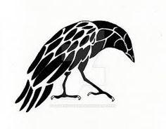 simple raven