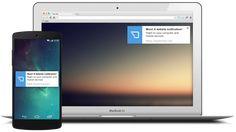 Chrome a Firefox webových stránok push Oznámenie. Jednoduchá inštalácia. Získať PushCrew ZADARMO!