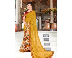 Superior Multi Colour Casual wear Saree
