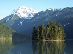 Packwood Lake, South Cascades, Goat Rocks (10 mi); Lost Lake Backpacking option further on