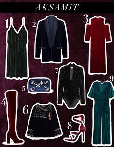 Co wybrać z aksamitu? Możliwości jest wiele, a sam aksamit wrócił do mody z rozmachem. Giorgio Armani, Balmain, Street Style, Polyvore, Image, Fashion, Moda, Urban Style, Fashion Styles