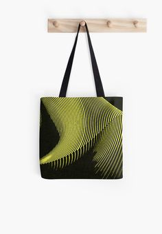Grab ANY 2 and get 15% OFF~Yellow waves, line art, curves, abstract pattern by cool-shirts