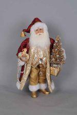 New in 2017 :: Product categories :: Karen Didion Originals Old World Christmas Ornaments, Bella, Originals, Santa, Holiday Decor, Xmas