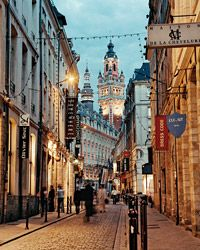 Just an hour by train from Paris, the former capital of Flanders marries Gallic traditions with t...