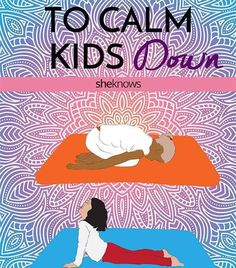 These Yoga Poses Will Calm Kids Down, Quick - Motivation Yoga Poses For Sleep, Kids Yoga Poses, Sleep Yoga, Cool Yoga Poses, Yoga Poses For Beginners, Yoga For Kids, Exercise For Kids, Kid Yoga, Bedtime Stretches