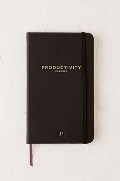 Slide View: 1: Productivity Plan Journal