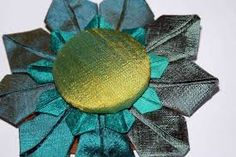 Image result for How to make 6 1920s fabric flowers sewing patterns