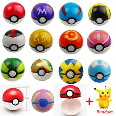 Poke Ball Figures ABS Anime PokeBall Toys Super Master Toys Pokeball Action Figures 13pcs/set WJ118 #>=#>=#>=#>=#> Click on the pin to check out discount price, color, size, shipping, etc. Save and like it!