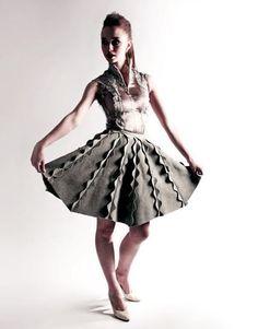 also mark liu, zero waste skirt