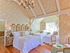 guest bedroom concept of sleeping several