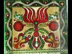 Decorative Hungarian Folk Art Painting   hubpages