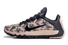 b992240d6e25 Nike Free Trainer 5.0 2014 Mens Camo Anthracite Armony Green Beige