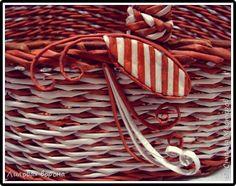díszítés Поделка изделие Плетение Новые работы Бумага Бумага газетная фото 3