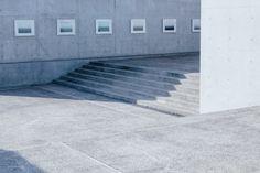 naoshima, japan. concrete benesse house