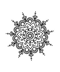 Coloring Mandala Flowers Beautiful Pin by Danni Krisinger On Mehndi Henna Designs Mandala Doodle, Mandala Art, Croquis Mandala, Easy Mandala Drawing, Mandala Painting, Moon Mandala, Simple Mandala Tattoo, Diy Painting, Mandala Flower
