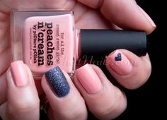ChitChatNails » Blog Archive » piCture pOlish – Peaches n' Cream