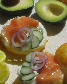 What else would you make with smoked salmon? Comment below your suggestions  #miniature #dollhouseminiatures #bagel #bagels #salmon #lox #loxbagel #cucumber #avocado #lemon #onion #sandwich #lovelylittleminiatures #fake #food #foodphotography #dailymini #polymerclay #polymerclayfood #fimo #foodporn #clay #sculpture #instafood #fish #foodie #art #artist #instaart