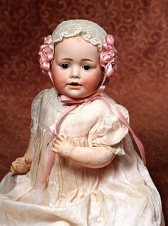 GERMAN BISQUE CHARACTER BABY BY KESTNER : Lot 230