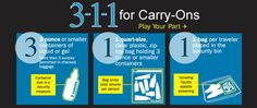 3-1-1 for Carry-Ons main graphic