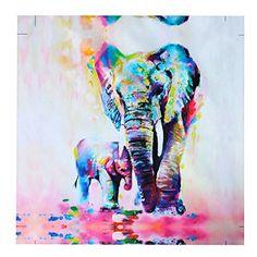 Mohoo 60x60cm Watercolor Elephant Art Oil Painting On Can... http://www.amazon.com/dp/B01B40C4J4/ref=cm_sw_r_pi_dp_s3zhxb01Z4Q5H